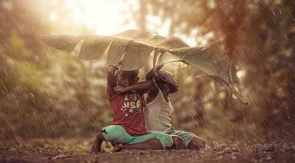 Niños jamaicanos disfrutan de su infancia y de la vida con lo poco que tienen 8