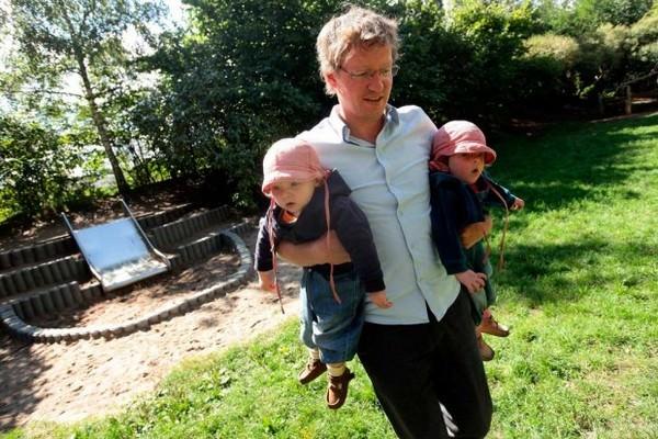 Padres y sus hijos en diferentes países del mundo-Alemania