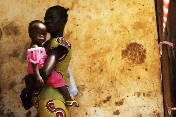 Padres y sus hijos en diferentes países del mundo-Sudán