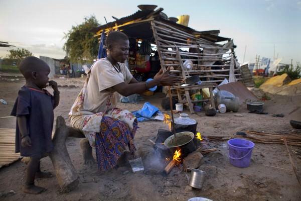Padres y sus hijos en diferentes países del mundo-Sudan