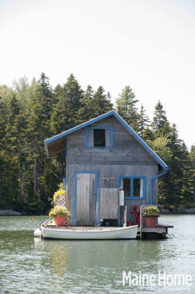 Una pareja construyó la casa de sus sueños y ahora son felices 1