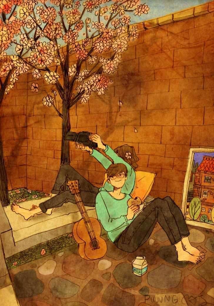 Bonitas ilustraciones nos muestran cómo es el amor verdadero 12