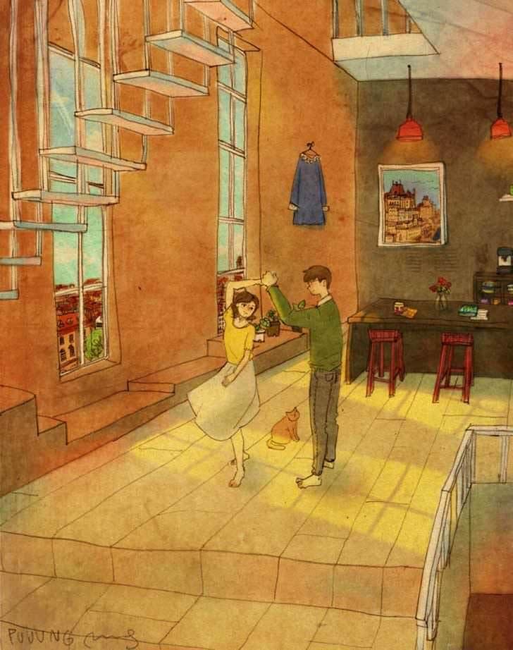 Bonitas ilustraciones nos muestran cómo es el amor verdadero 5