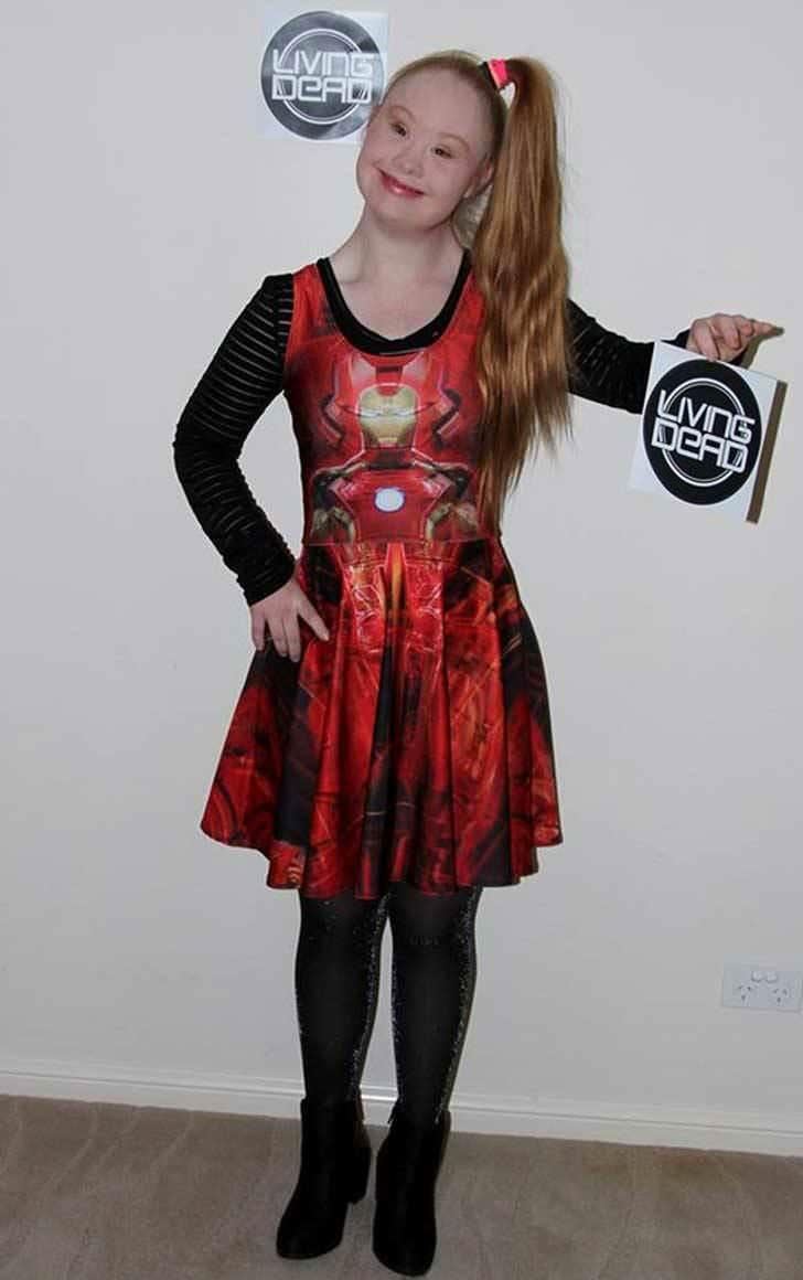 Esta joven con Síndrome de Down está revolucionando el mundo de la moda 4