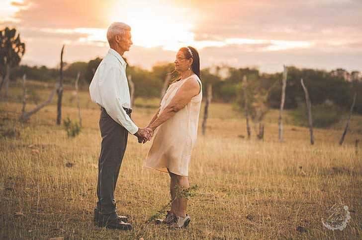 Esta pareja es muy feliz tras 40 años juntos 5