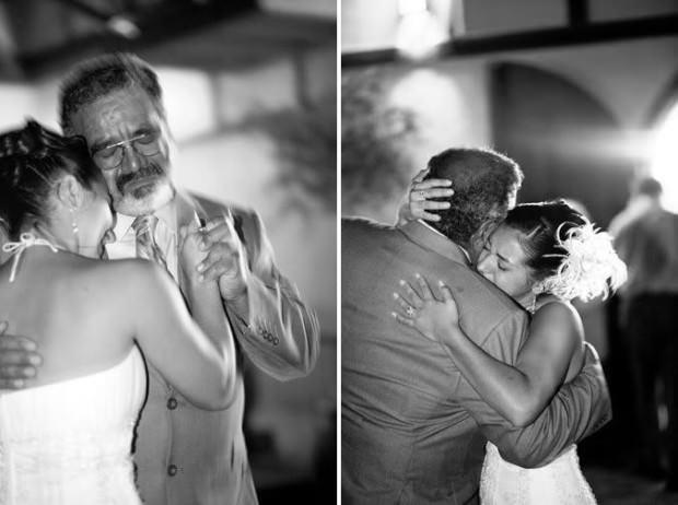 La emoción de los padres en la boda de sus hijas 6