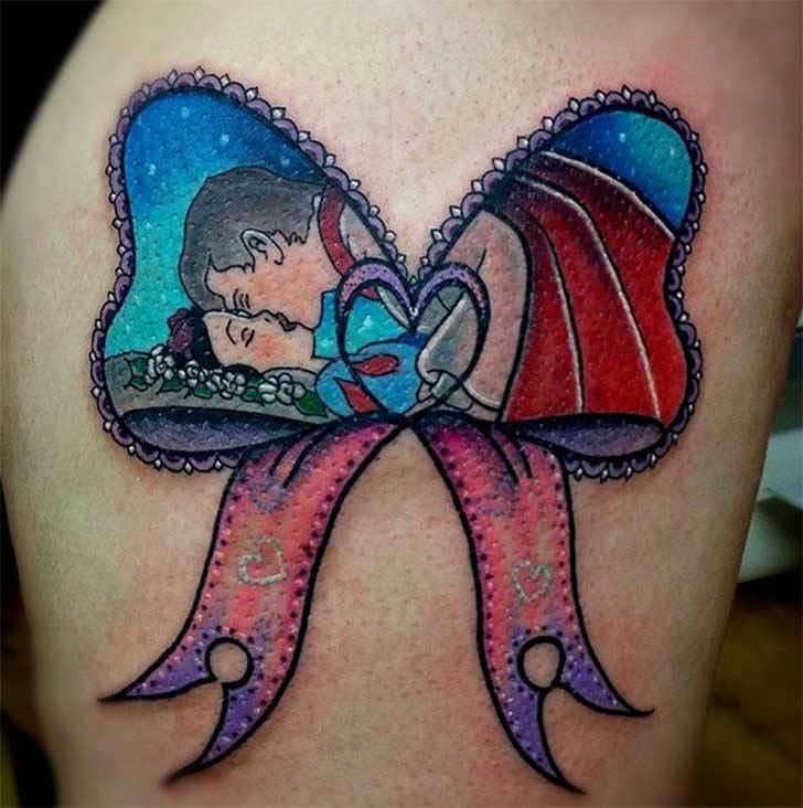 Princesas Disney convertidas en bonitos tatuajes 14
