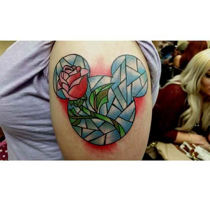 Princesas Disney convertidas en bonitos tatuajes 17