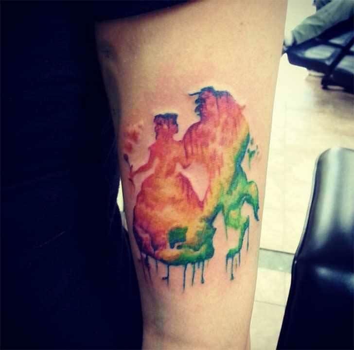 Princesas Disney convertidas en bonitos tatuajes 19