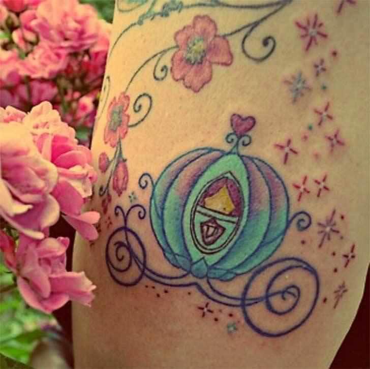 Princesas Disney convertidas en bonitos tatuajes 5